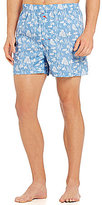 Tommy Bahama Woven Tropical-Printed Boxers