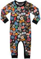 Rock Your Baby Vintage Patches Playsuit
