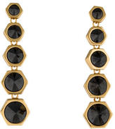 Rachel Zoe Hexagon Crystal Drop Earrings