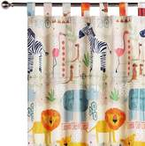 Happy Kids African Jungle Glow in the Dark Curtain