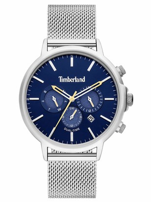 Timberland Mens Analogue Quartz Watch with Stainless Steel Strap TBL15651JYS.03MM