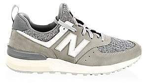 New Balance Men's 574 Sport Suede Sneakers