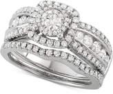 Macy's Diamond Bridal Set (1-5/8 ct. t.w.) in 14k White Gold