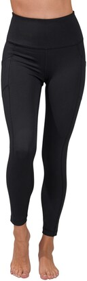 90 Degree By Reflex Wonderflex High Waist Pocket Capri Leggings