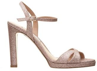 Roberto Festa Platform Glitter Sandals