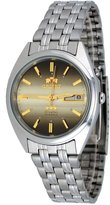 Orient #FEM0401PU Men's Tri Star Brown Dial Standard Self Winding Automatic Watch