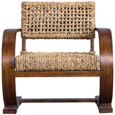 Uttermost Rehema Natural Woven Accent Chair