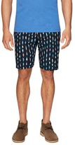 Jachs Oxford Lined Flat Front Shorts