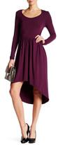 Tart Louvain Hi-Lo Dress