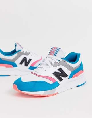 New Balance 997 colour pop trainers-Multi