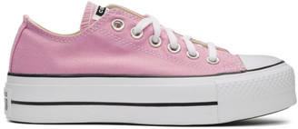 Converse Pink Chuck Taylor All Star Lift Low Sneakers