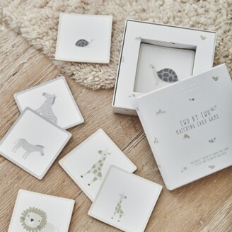 The White Company Two by Two Matching Card Game, Multi, One Size