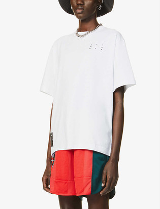 McQ Genesis II cotton-jersey T-shirt