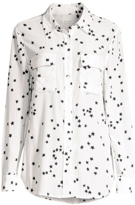 Equipment Starry Night Slim Signature Shirt