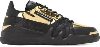 Giuseppe Zanotti Talon Leather Low-top Sneakers