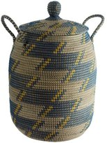 Habitat Adder Laundry Basket with Lid - Blue
