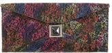 Kara Ross Multicolor Glitter Clutch