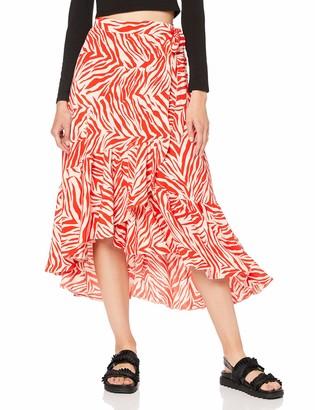 New Look Women's Sasha Zebra Skirt