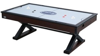 "The X-Treme 88"" Air Hockey Table Berner Billiards Finish: Walnut"