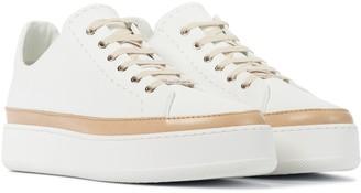 Max Mara Turner leather sneakers