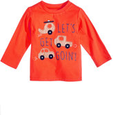 First Impressions Cars-Print Cotton T-Shirt, Baby Boys (0-24 months), Only at Macy's