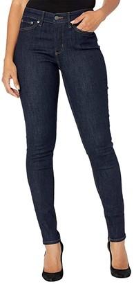 Lauren Ralph Lauren Premier Skinny Ankle Jeans in Rinse Wash (Rinse Wash) Women's Jeans