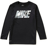 Nike Big Boys 8-20 Legend Long-Sleeve Graphic Tee