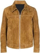 Ami Paris Suede Leather Jacket