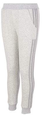 adidas Little Girl's 3-Stripes Cotton-Blend Fleece Jogger Pants