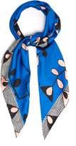 Marni Abstract-print silk scarf