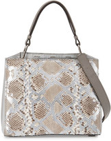 VBH Seven 30 Python Tote Bag, Platinum