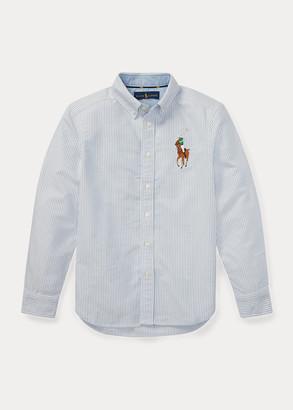 Ralph Lauren Big Pony Striped Oxford Shirt