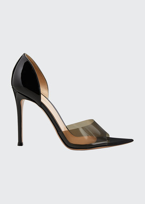 Gianvito Rossi Bree 105mm Pexi Peep-Toe d'Orsay Sandals