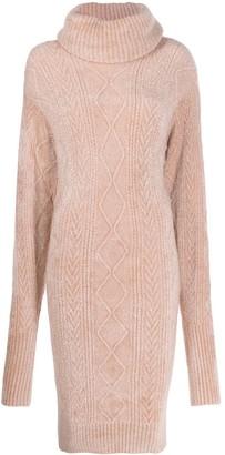 Alexandre Vauthier Cable-Knit Jumper Dress