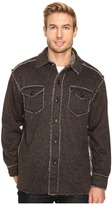 True Grit Tweed Sherpa Button Jacket