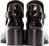 Jil Sander Black Pointed Toe Runway Boots