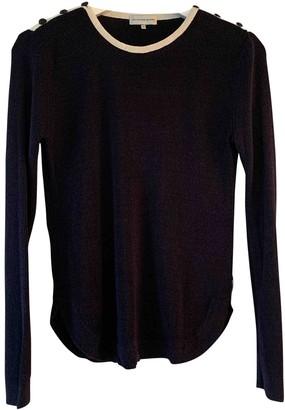 LES COYOTES DE PARIS Blue Wool Knitwear