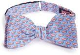 Vineyard Vines Diver Whale Silk Bow Tie