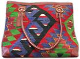 Mini Weekender Blue/Red and Green
