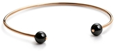 ginette_ny Ceramic Baubles Small Bead Bangle - Rose Gold