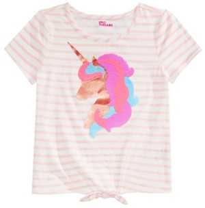 Epic Threads Big Girls Unicorn Flip Sequin T-Shirt, Created for Macy's