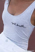 Forever 21 Just Breathe Bodysuit