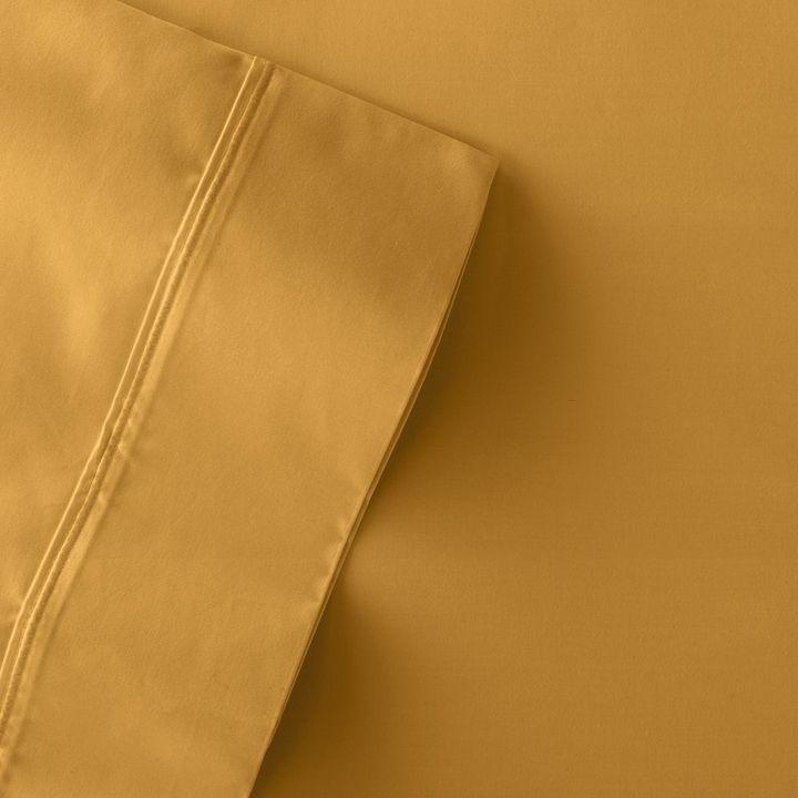 Vera Wang Simply vera 800-thread count sateen pima cotton sheet set - queen