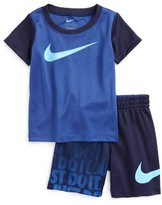 Nike Infant Boy's Splice T-Shirt & Shorts Set