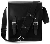 Aspinal Of London Shadow Small Messenger Bag Black Ebl
