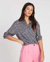 ROLLA'S Slouch Coast Floral Shirt
