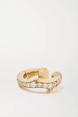 Stephen Webster + Net Sustain Thorn Stem 18-karat Recycled Gold Diamond Ear Cuff - one size