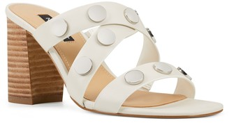 Nine West Yoana Women's Leather Strappy Sandals