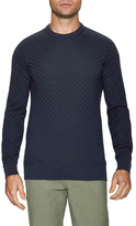 Ben Sherman Embroidered Cotton Sweater