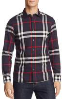 Burberry Salwick Flannel Long Sleeve Button-Down